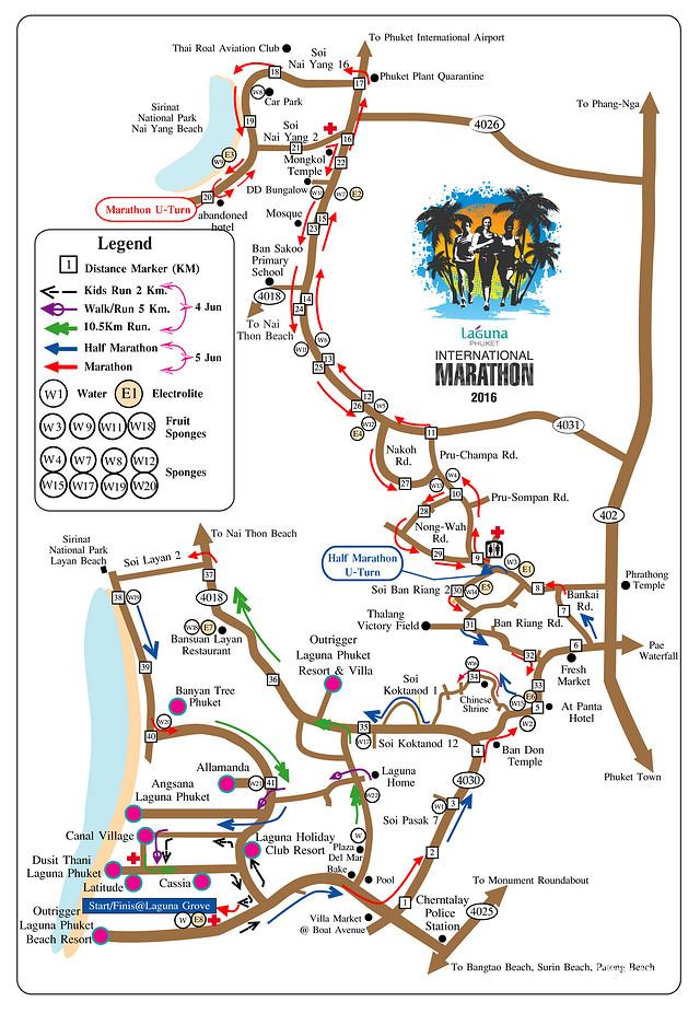 泰国普吉岛马拉松(三月更新)